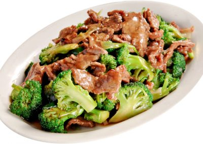 Stir-fried Beef with Broccoli