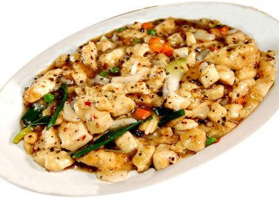 "Stir-fried Chicken with Black Bean Sauce <span style=""color: #ff0000;"">*</span>"