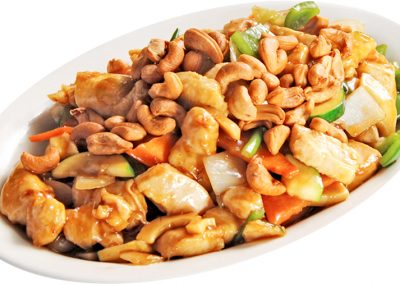 Stir-fried Chicken with Nuts