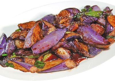 "Eggplant in Garlic Sauce <span style=""color: #ff0000;"">*</span>"