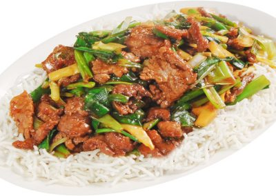 "Mongolian Beef <span style=""color: #ff0000;"">*</span>"