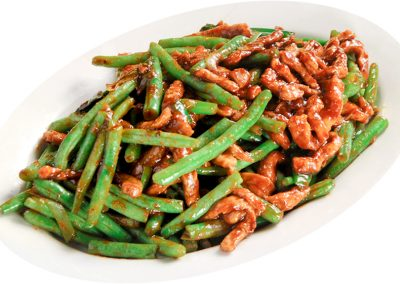 "Stir-fried Pork with Green Bean <span style=""color: #ff0000;"">*</span>"