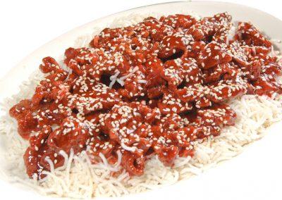 "Sesame Crispy Beef <span style=""color: #ff0000;"">*</span>"