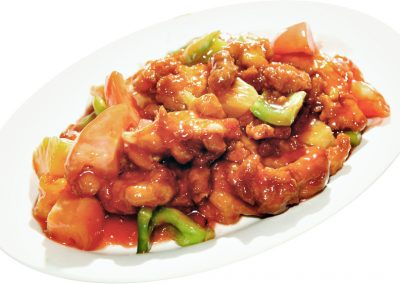 "Sweet & Sour Chicken <span style=""color: #ff0000;"">*</span>"